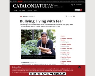 Bullying; living with fear