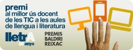 Baldiri Reixac / Lletra Award