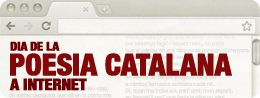Day of Catalan Poetry on Internet