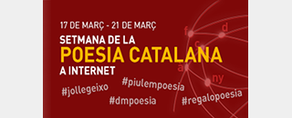 Catalan Poetry Week on the Internet