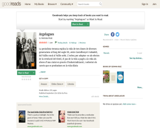Argelagues in Goodreads