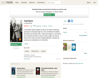 Argelagues a Goodreads