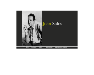 Joan Sales a l'AELC