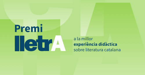 Lletra Prize for the best educational experience