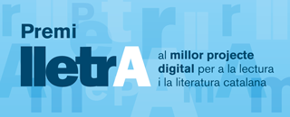 Lletra Prize to the best digital project