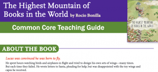 The Highest Mountain of Books in the World teaching guide