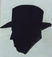 Ferran Canyameres: perfil de l'autor. Anònim. Porbablement París, anys 40.