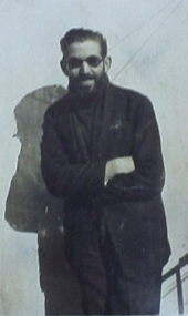 Ferran Canyameres a l'època de cràpula (1924?).