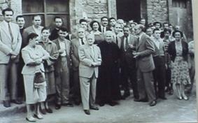 Ferran Canyameres. Jocs Florals a Cantonigrós. 16/8/51.