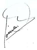 Josep Romeu: signatura