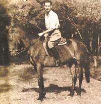 Lluís Ferran de Pol a cavall